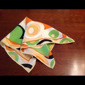 Pucci silk scarf